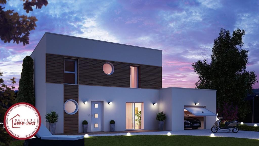 Emejing Maison Moderne Avec Garage Images - Joshkrajcik.us ...